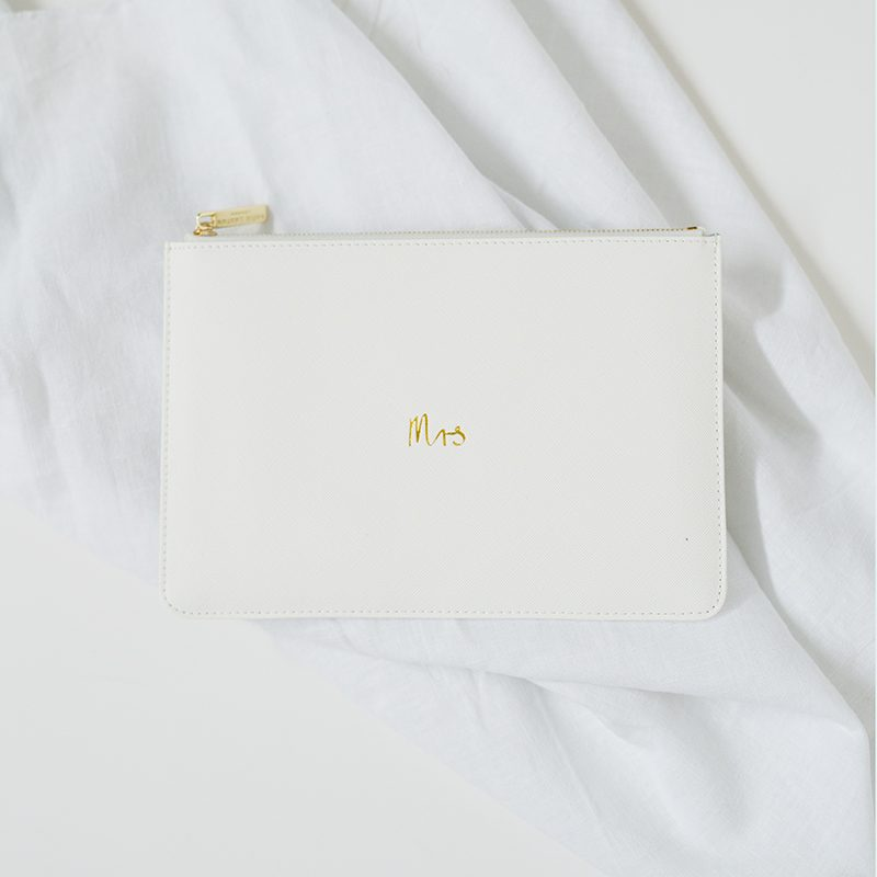 Katie Loxton Clutch Pouch Mrs